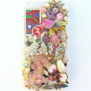 iPhone 6 or 6s bling bedazzled phone case